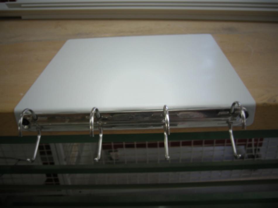 Как сделать переносной настольный органайзер для инструкций и документов (7)