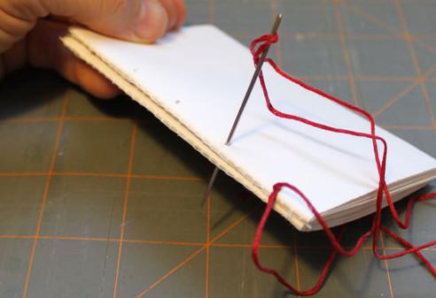 Как сделать авторский блокнот (10)