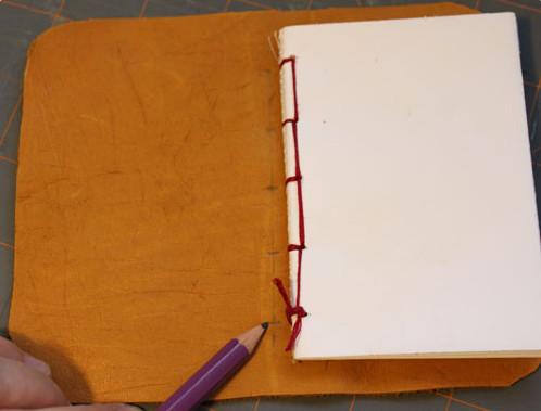 Как листы а4 сшить в блокнот