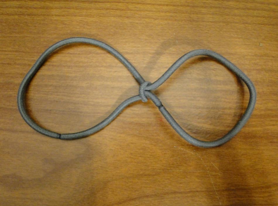 Повязка для волос из атласных лент (5)