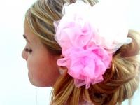 Украшение для волос из органзы (1)