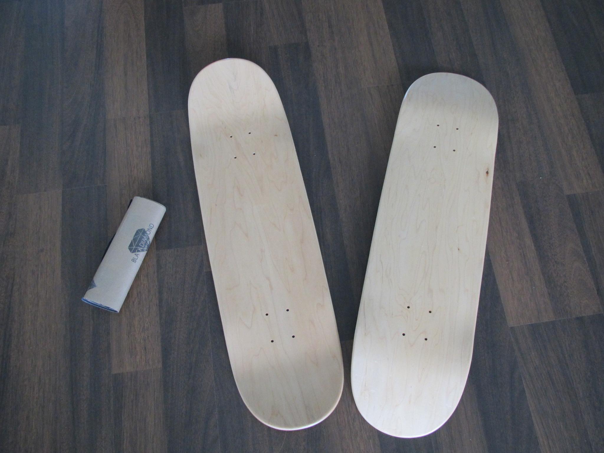 Как сделать доску для скейтборда