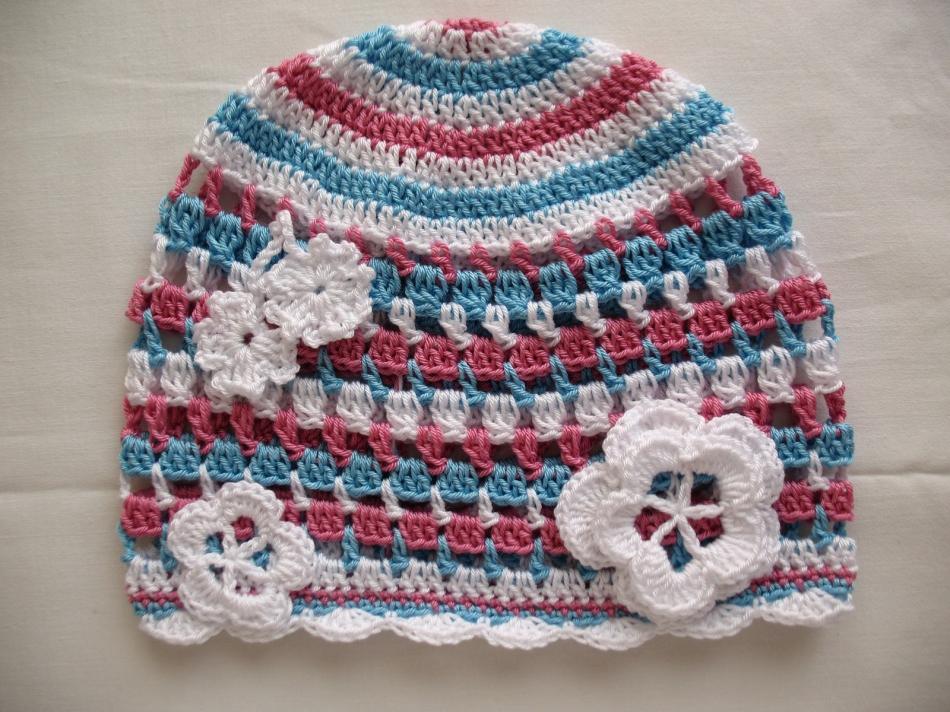 ще летние детские шапочки (11)