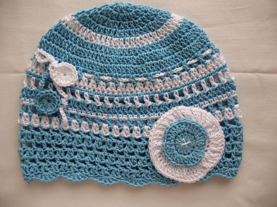 ще летние детские шапочки (8)