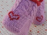 Как сделать вышивку на вязаном изделии (9)