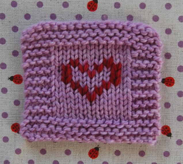 Как сделать вышивку на вязаном изделии (1)