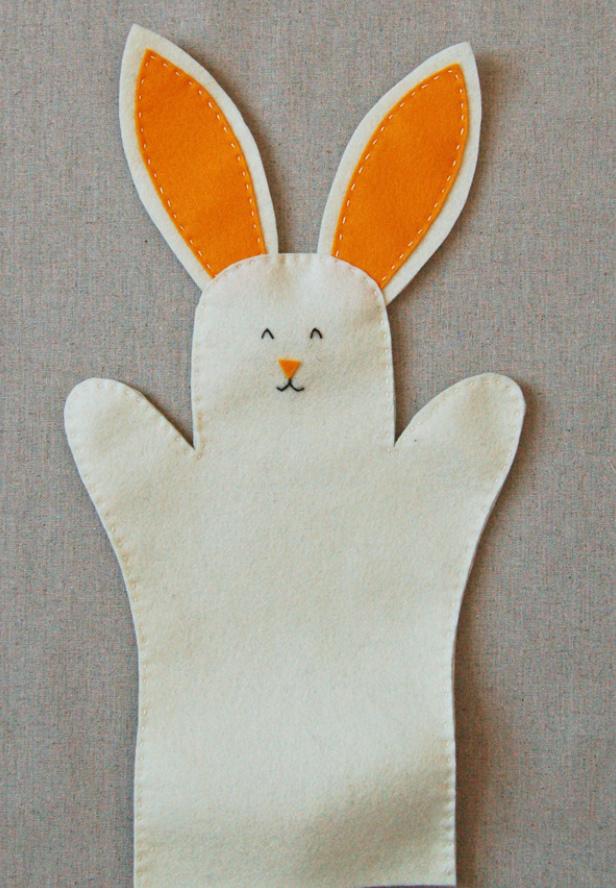 Как сшить зайчика для домашнего кукольного театра (2)