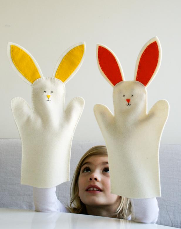 Как сшить зайчика для домашнего кукольного театра (1)