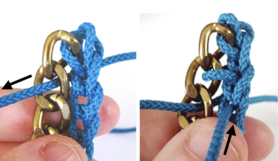 Как сделать браслет по-восточному (8)