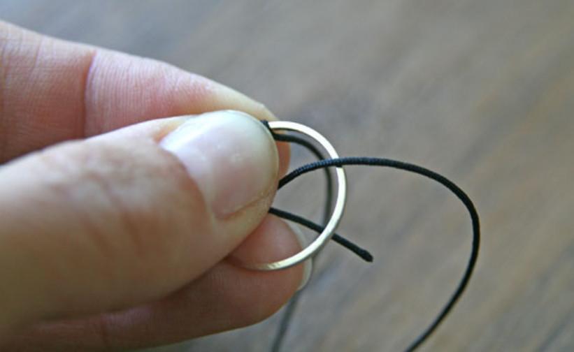 Как сделать кольца Олимпиады (11)