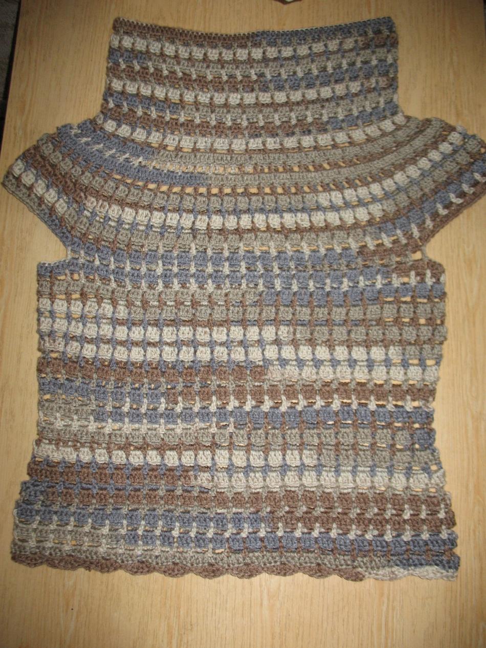 Пуловер с коротким рукавом для прохладных летних вечеров (13)