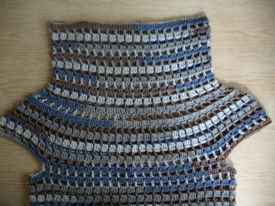 Пуловер с коротким рукавом для прохладных летних вечеров (7)