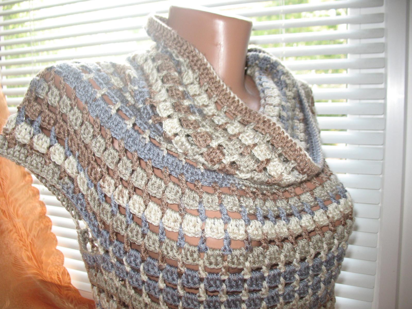 Пуловер с коротким рукавом для прохладных летних вечеров (2)