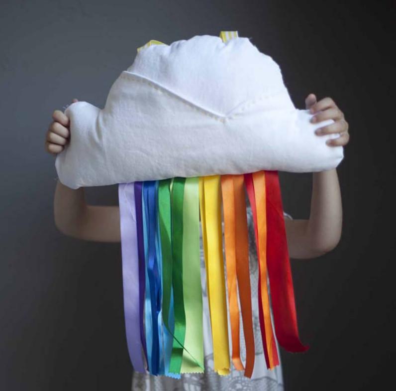 Как сшить подушку в виде клубники