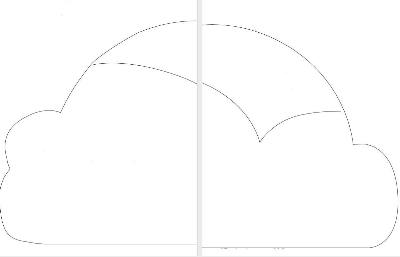 Подушка облако выкройки схемы