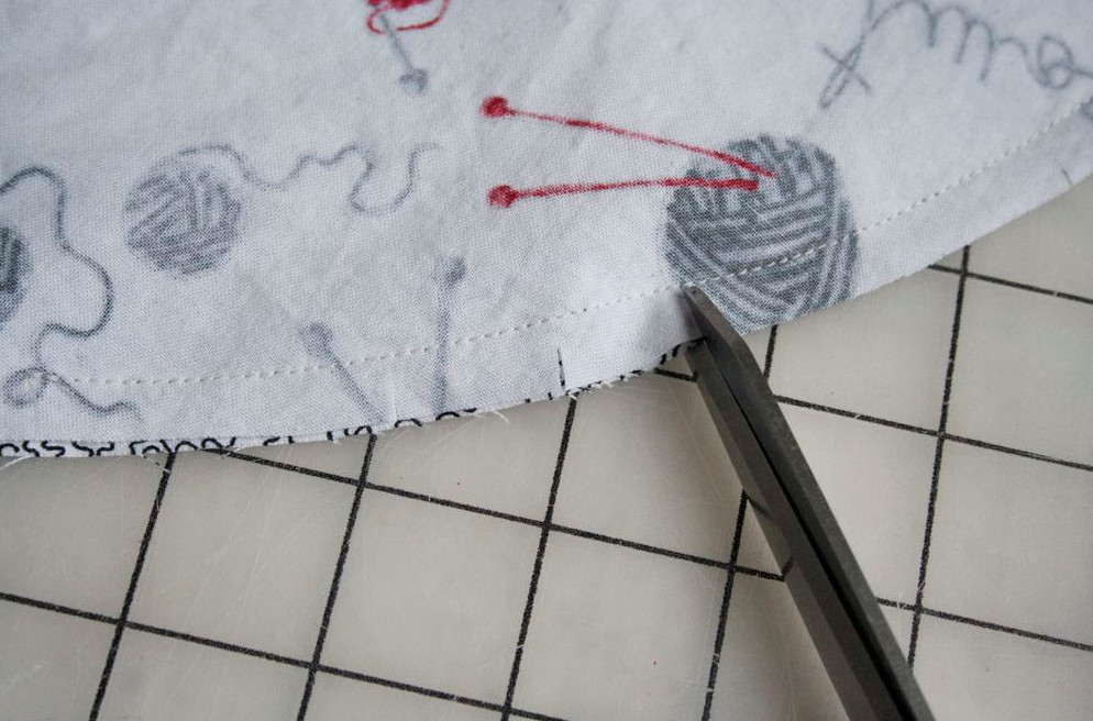 сшить сумочку на руку для вязания