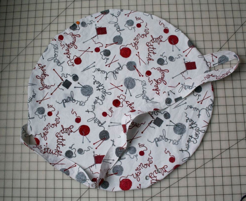 Как сшить сумку для вязания (5)