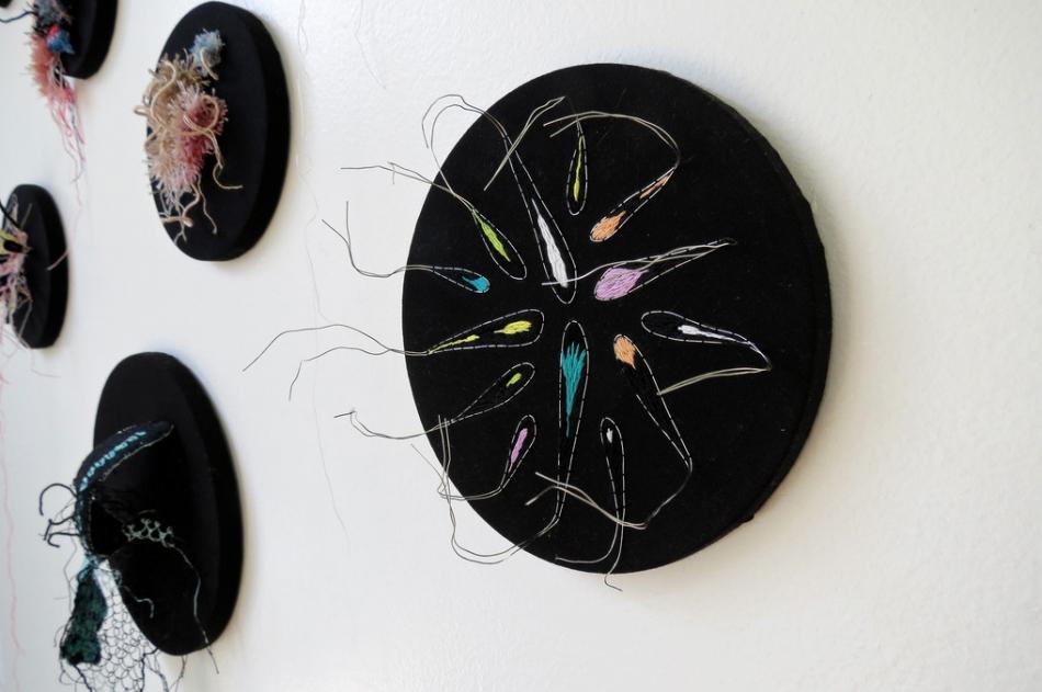 Инсталляции из ниток от Вероники Фуэнтес (6)