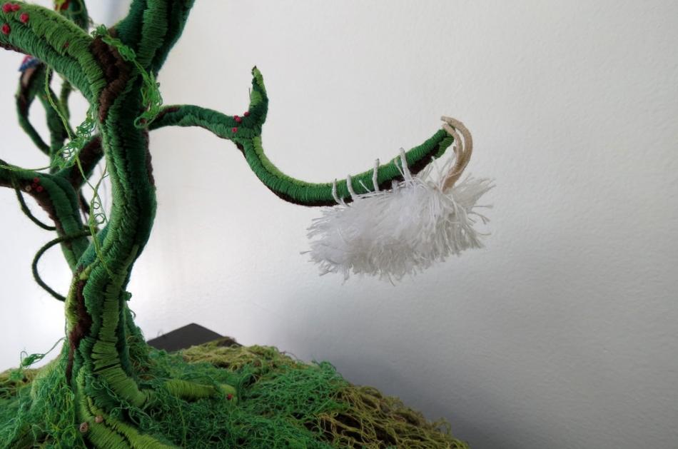 Инсталляции из ниток от Вероники Фуэнтес (5)