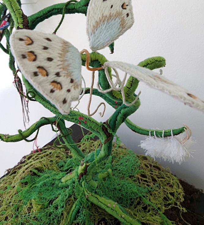 Инсталляции из ниток от Вероники Фуэнтес (4)