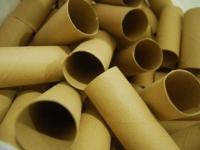 Из рулонов туалетной бумаги (10)