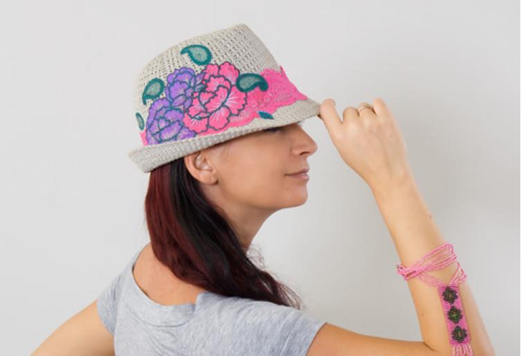 Вносим яркие краски в головные уборы (7)