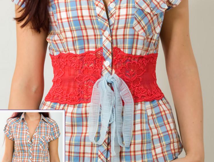 Женское летнее в горох свободное от талии с поясом платье