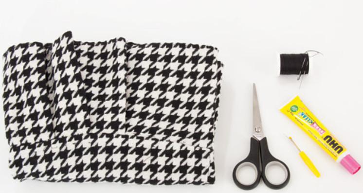 Как сделать широкий пояс из строй юбки (8)