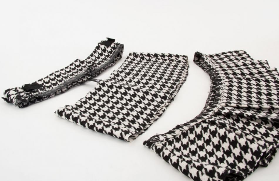 Как сделать широкий пояс из строй юбки (4)