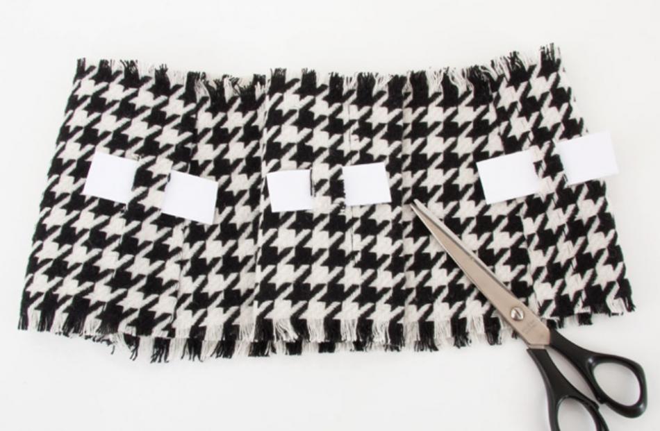 Как сделать широкий пояс из строй юбки (2)