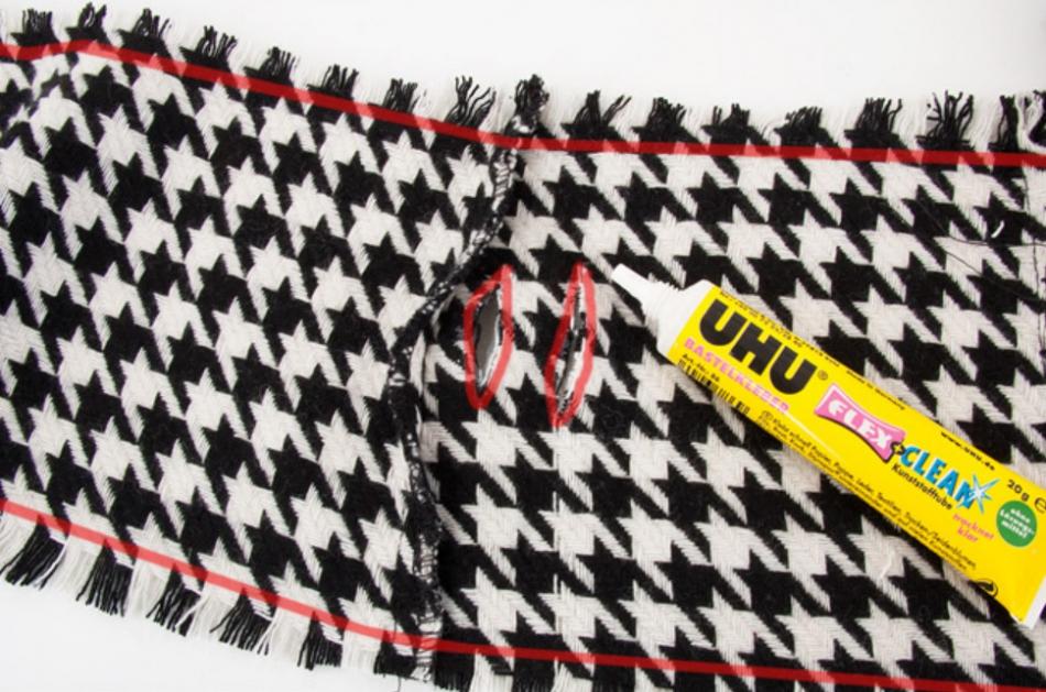 Как сделать широкий пояс из строй юбки (1)