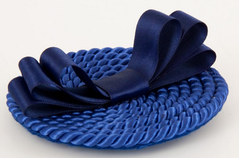 Как украсить ободок шнуром (3)