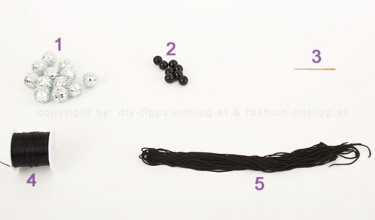 Как сделать браслет для диско-дискотеки (10)