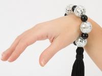 Как сделать браслет для диско-дискотеки (9)