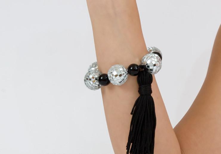 Как сделать браслет для диско-дискотеки (7)