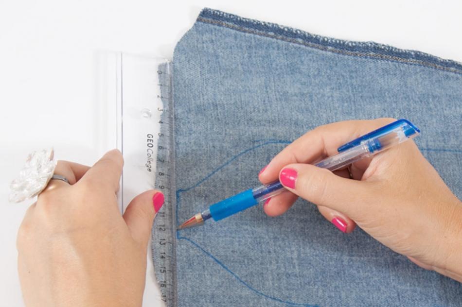Как сшить джинсовый пояс (5)
