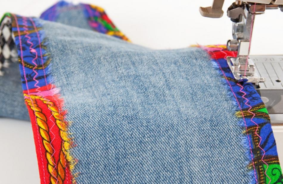 Как сшить джинсовый пояс (1)