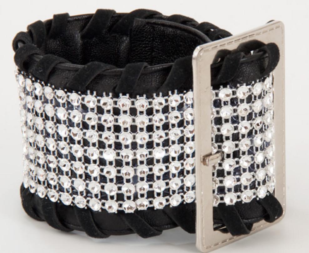 Как сделать браслет из старого пояса (6)