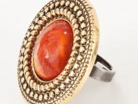 Как сделать кольцо из старой серьги-клипсы (7)