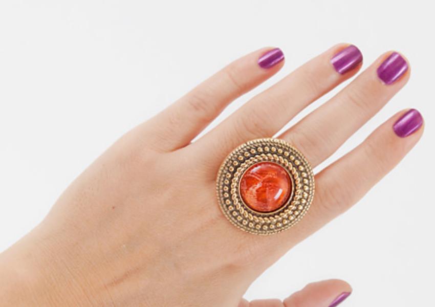 Как сделать серёжку кольцо