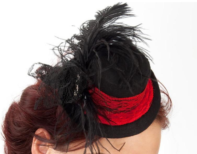 Праздничная шляпка-заколка (24)