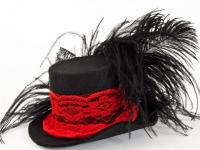 Праздничная шляпка-заколка (20)
