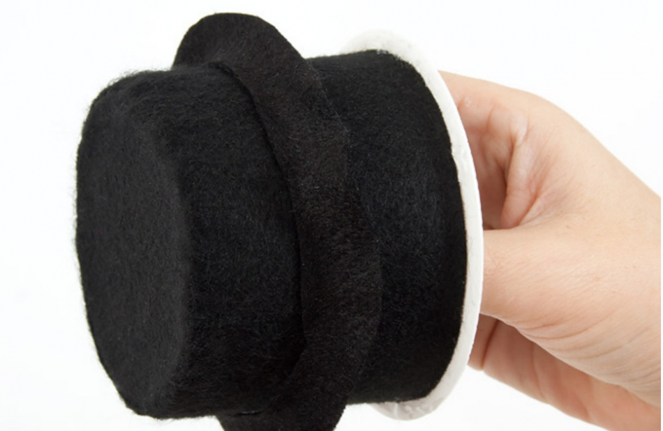Праздничная шляпка-заколка (6)