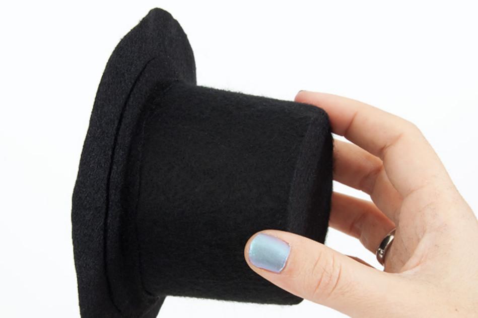 Праздничная шляпка-заколка (5)