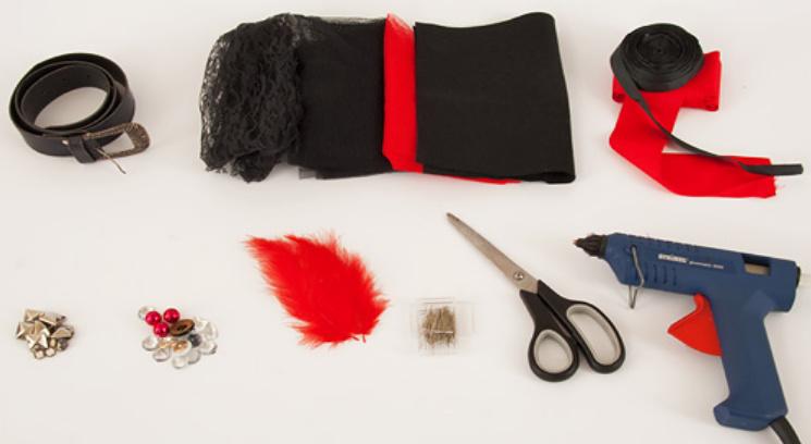 Украшение пояса для праздника (12)