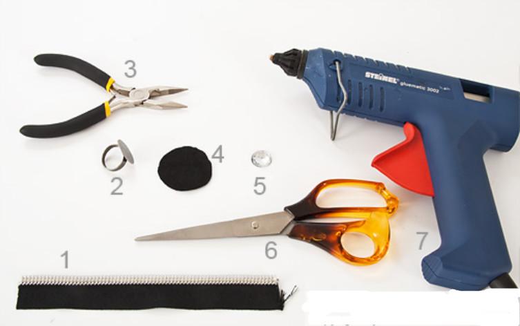 Как сделать кольцо из застежки-молнии (11)