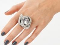 Как сделать кольцо из застежки-молнии (2)