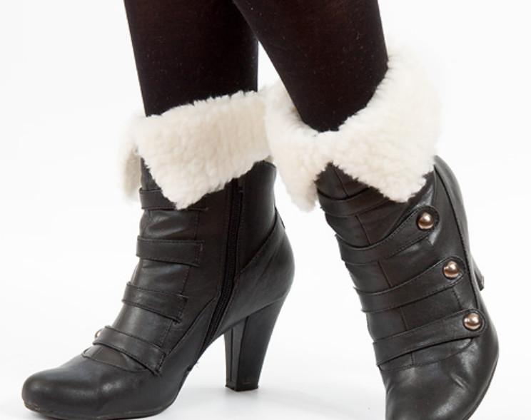 Как сделать меховый утеплитель для ботинок (5)