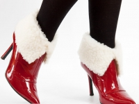 Как сделать меховый утеплитель для ботинок (2)