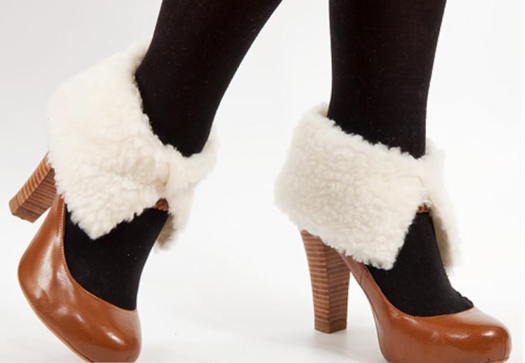 Как сделать меховый утеплитель для ботинок (1)